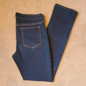 Eddie Bauer size 8 straight leg jean dark wash